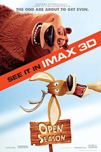 Open Season: An IMAX 3D Experience Movie Poster