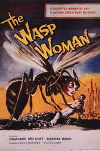 The WASP Woman / Attack of the Crab Monsters / Creature from the Haunted Sea Movie Poster