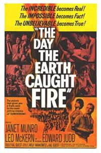 The Day the Earth Caught Fire / Last Man on Earth Movie Poster