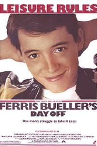 Ferris Bueller's Day Off / The Breakfast Club Movie Poster