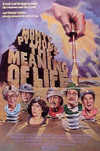 Monty Python's The Meaning of Life / And Now for Something Completely Different Movie Poster