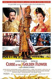 Curse of the Golden Flower Movie Poster