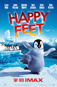 Happy Feet: The IMAX Experience Movie Poster