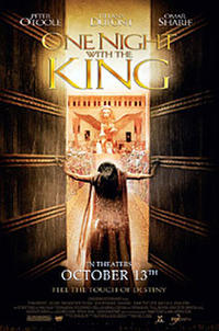 One Night  with the King Movie Poster