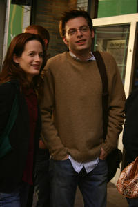 Allegra (Elizabeth Reaser) gets involved with Phillip (Justin Kirk), philosophy professor, in