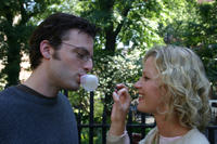 Phillip (Justin Kirk) and Grace (Gretchen Mol) have their own secret relationship in
