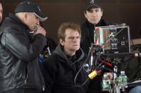 Director James Foley on the set of
