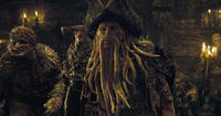 Davy Jones (Bill Nighy) and The Flying Dutchman Crew in