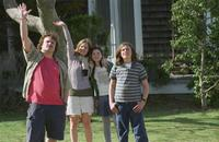 Jack Black as Malcolm, Jennifer Jason Leigh as Pauline, Flora Cross as Ingrid and Zane Pais as Claude in