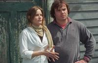Jennifer Jason Leigh and Jack Black in