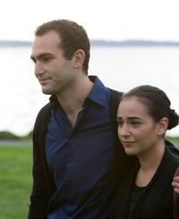 Khalid Abdalla as Amir and Atossa Leoni as Soraya in