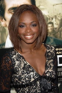 Actress Nzinga Blake at the L.A. premiere of