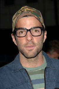 Actor Zachary Quinto at the L.A. premiere of