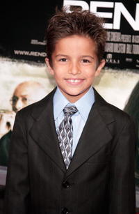 Actor Aramis Knight at the L.A. premiere of