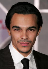 Actor Shalim Ortiz at the Hollywood premiere of