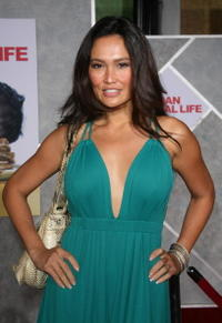 Actress Tia Carrere at the Hollywood premiere of