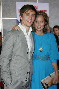 Composer and singer Sondre Lerche and guest at the Hollywood premiere of
