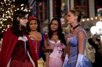 Anna Paquin, Moneca Delain, Rochelle Aytes and Lauren Lee Smith in
