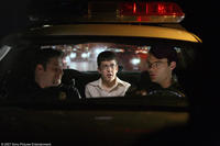 Seth Rogen, Christopher Mintz-Plasse and Bill Hader in