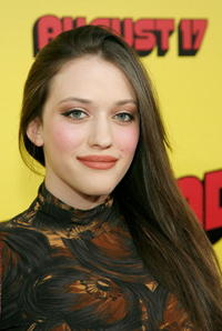 Actress Kat Dennings at the Hollywood premiere of
