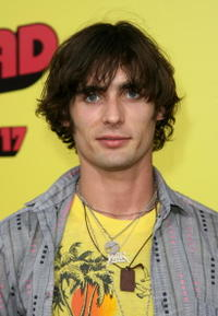 Musician Tyson Ritter from the band The All-American Rejects at the Hollywood premiere of