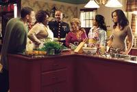 Chris Brown, Loretta Devine, Columbus Short, Lupe Ontiveros, Regina King and Sharon Leal in