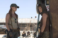 Ali Larter and Milla Jovovich in