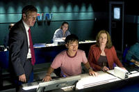 Dennis Quaid, Leonardo Nam and Sigourney Weaver in