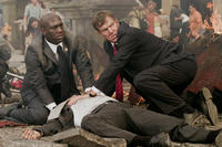 Richard T. Jones and Dennis Quaid in