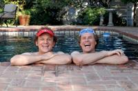 John C. Reilly as Dale Doback and Will Ferrell as Brennan Huff in