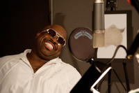 Cee Lo Green on the set of