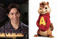 Justin Long voices the role of Alvin in