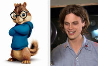 Matthew Gray Gubler voices the role of Simon in