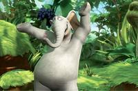 Horton rejoices over his new discovery in