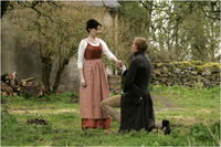Exclusive Photo! Anne Hathaway as Jane Austen and Joe Anderson as Henry Austen in