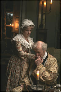 Exclusive Photo! James Cromwell as Rev. Austen and Julie Walters as Mrs. Austen in