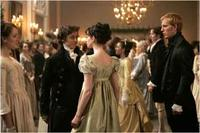 James McAvoy as Tom Lefroy, Anne Hathaway as Jane Austen and Joe Anderson as Henry Austen in