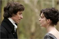James McAvoy as Tom Lefroy  and Anne Hathaway as Jane Austen in