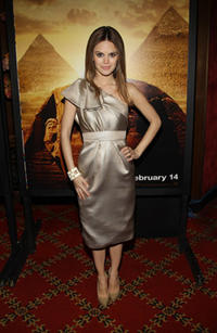 Actress Rachel Bilson at the N.Y. premiere of
