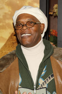 Actor Samuel L. Jackson at the N.Y. premiere of