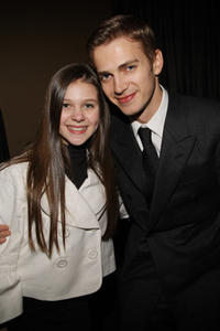 Actor Hayden Christensen and guest at the after party of the N.Y. premiere of