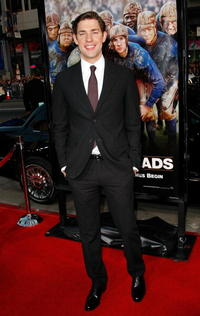 Actor John Krasinski at the Hollywood premiere of