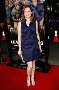 Actress Jenna Fischer at the Hollywood premiere of