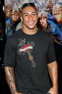 Cleveland Browns' Kellen Winslow Jr. at the Hollywood premiere of