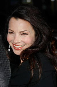 Actress Fran Drescher at the Hollywood premiere of