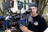 Director Peter Segal on the set of