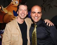Sean Hayes and Director Tony Leondis at the California premiere of