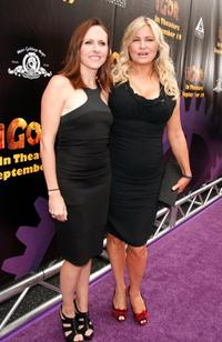 Molly Shannon and Jennifer Coolidge at the California premiere of