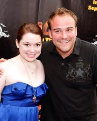 Jennifer Stone and David Deluise at the California premiere of