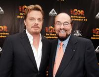 Eddie Izzard and James Lipton at the California premiere of